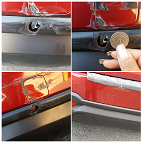 Repair Process for Bumper Damage