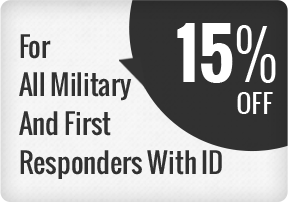 15% Military and First Responder Service Special
