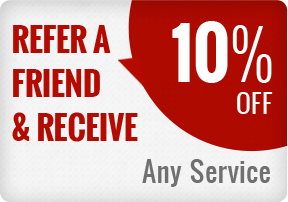10% Refer a Friend Service Special